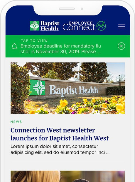 Baptist Health Employee Connect App